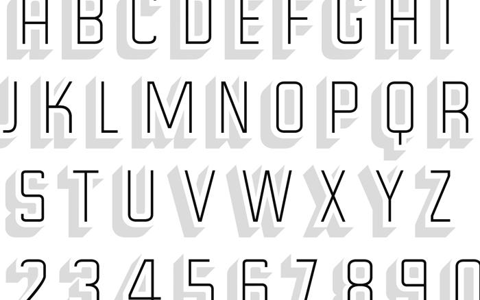 Typeface: Hardin